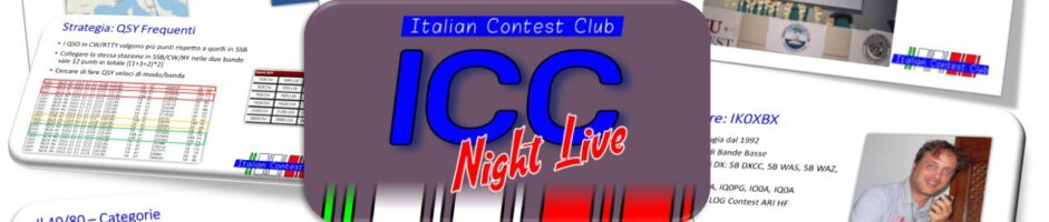 ICC Night Live #2 – I Contest Italiani