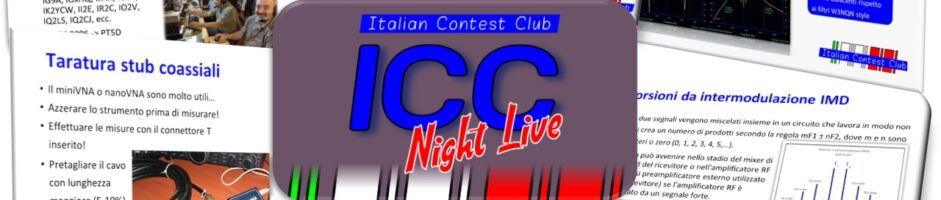 ICC Night Live #4 – Filtri Passa Banda e Notch